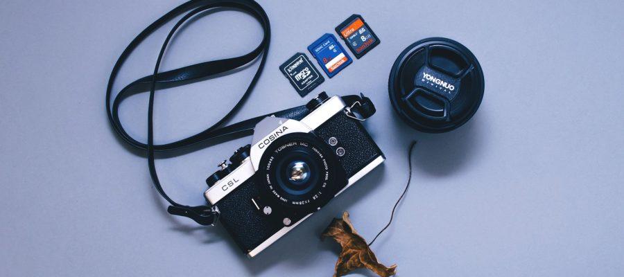 aparat i karty pamięci